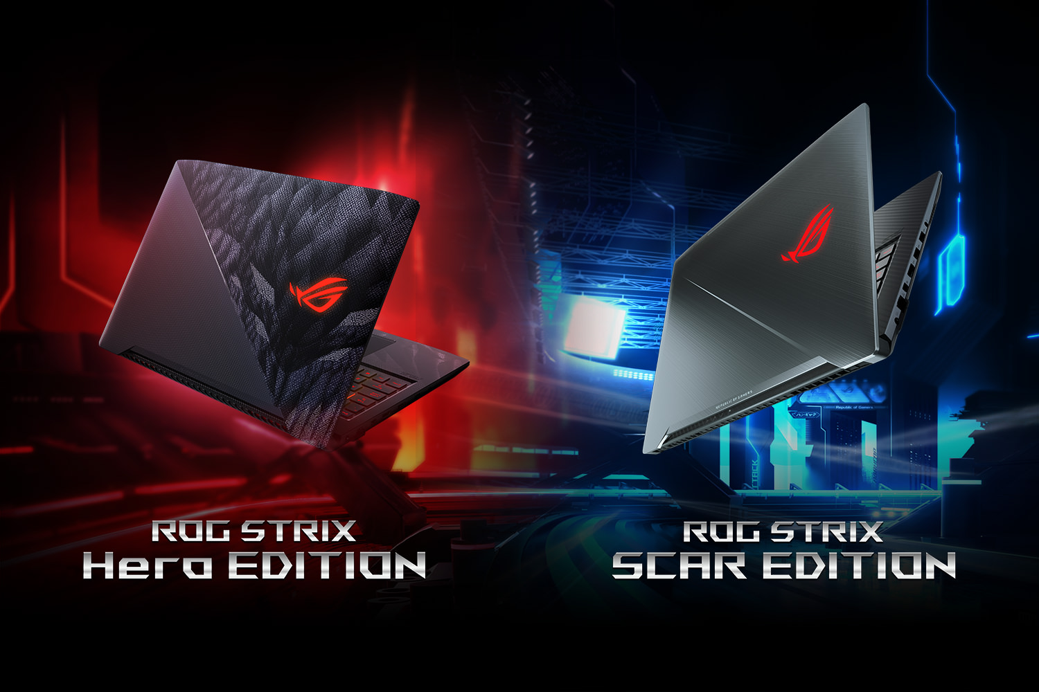 ASUS ROG Strix Hero & SCAR Edition
