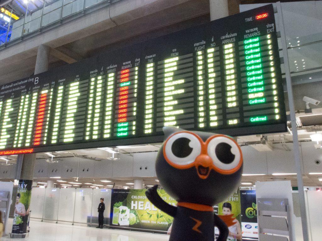 スワンナプーム国際空港到着!!