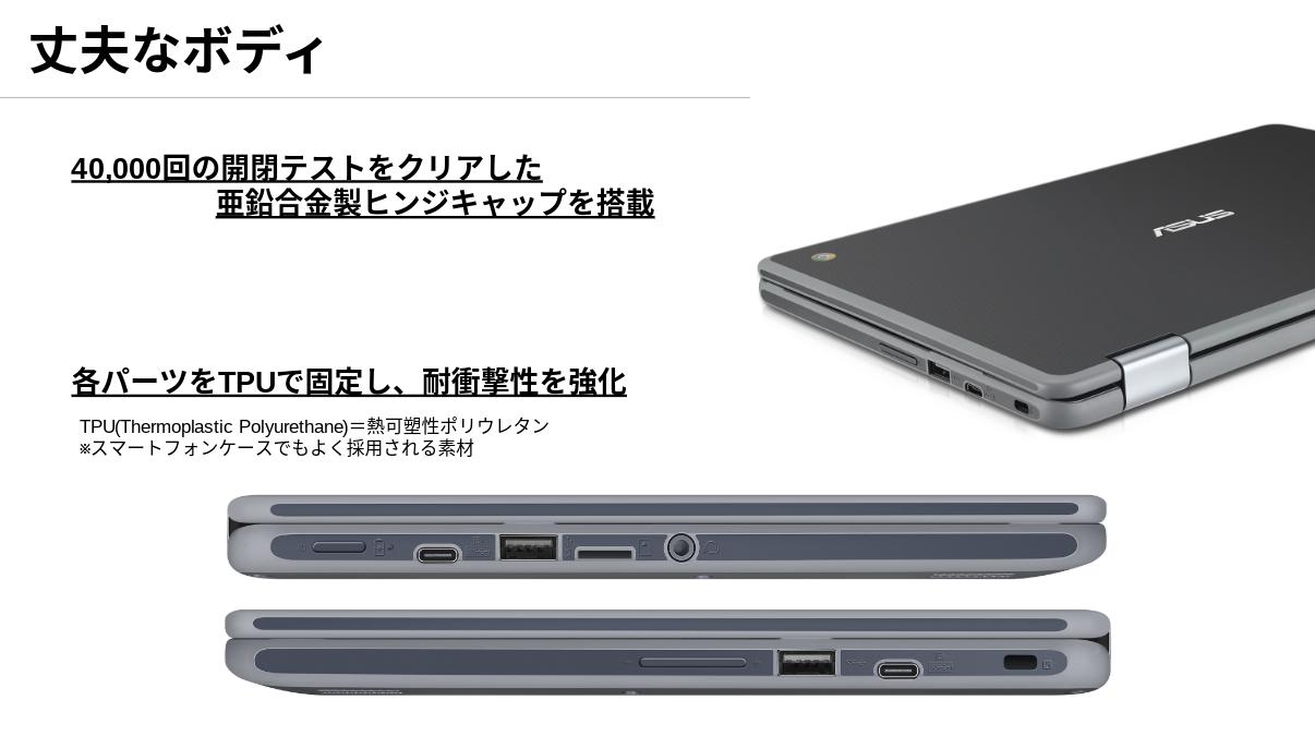 ASUS Chromebook C213NA シリーズの丈夫さ、安心さPopular posts