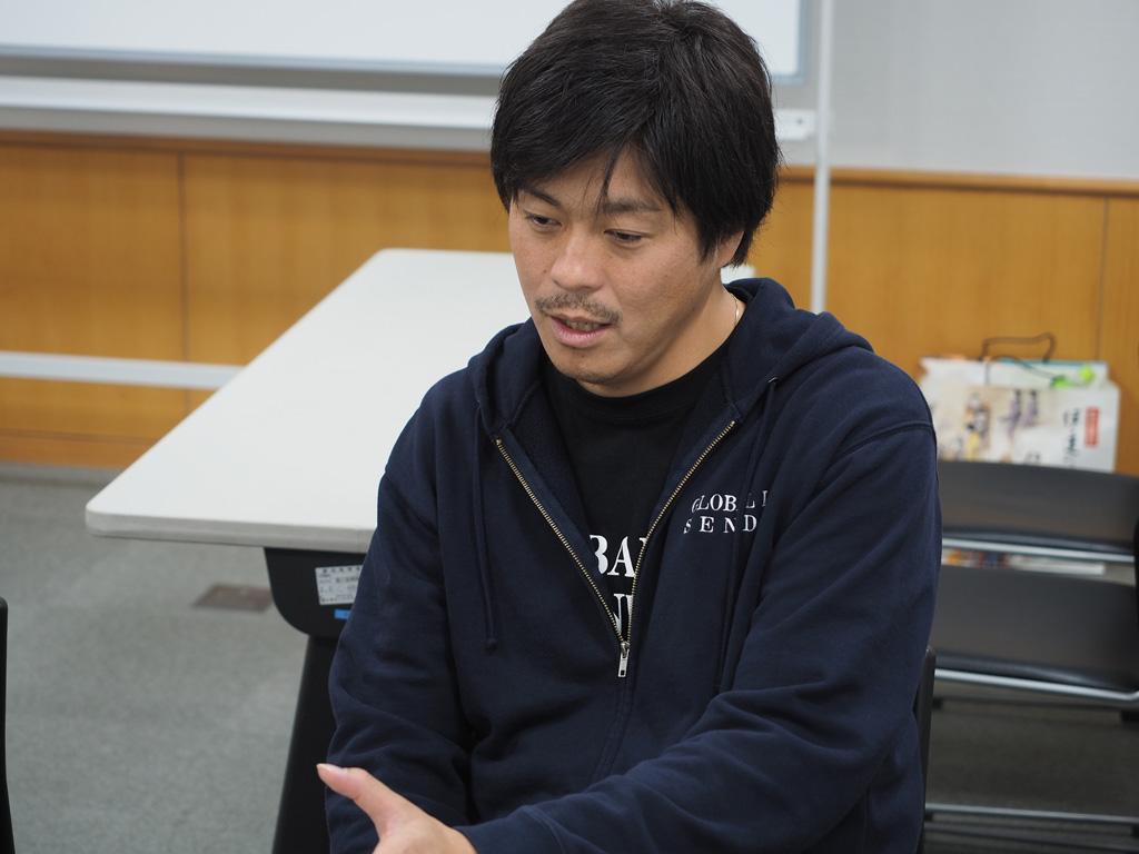 GLSエグゼクティブクリエイターの佐藤さん。