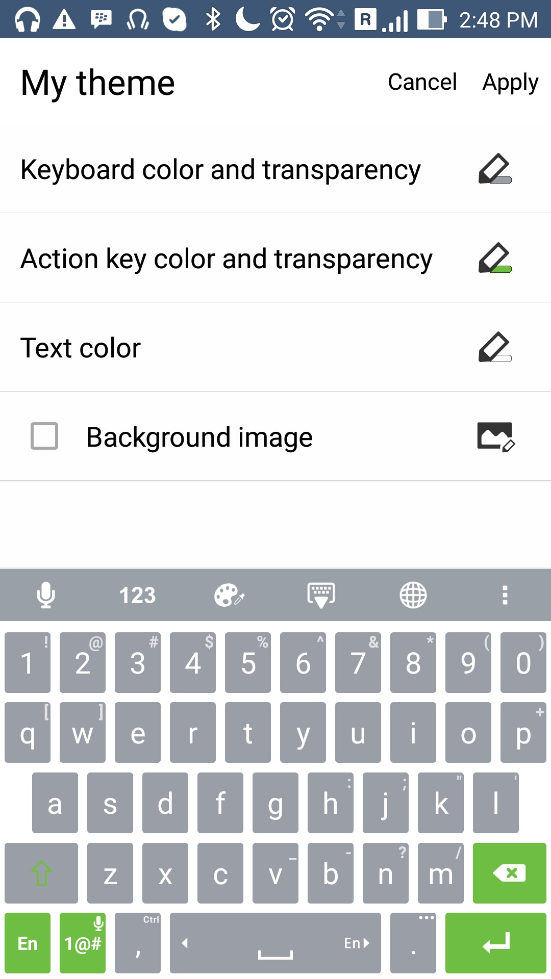 How the asus keyboard brings your words to life mobile asus global zenfone keyboard2 zenfone keyboard7 biocorpaavc Choice Image
