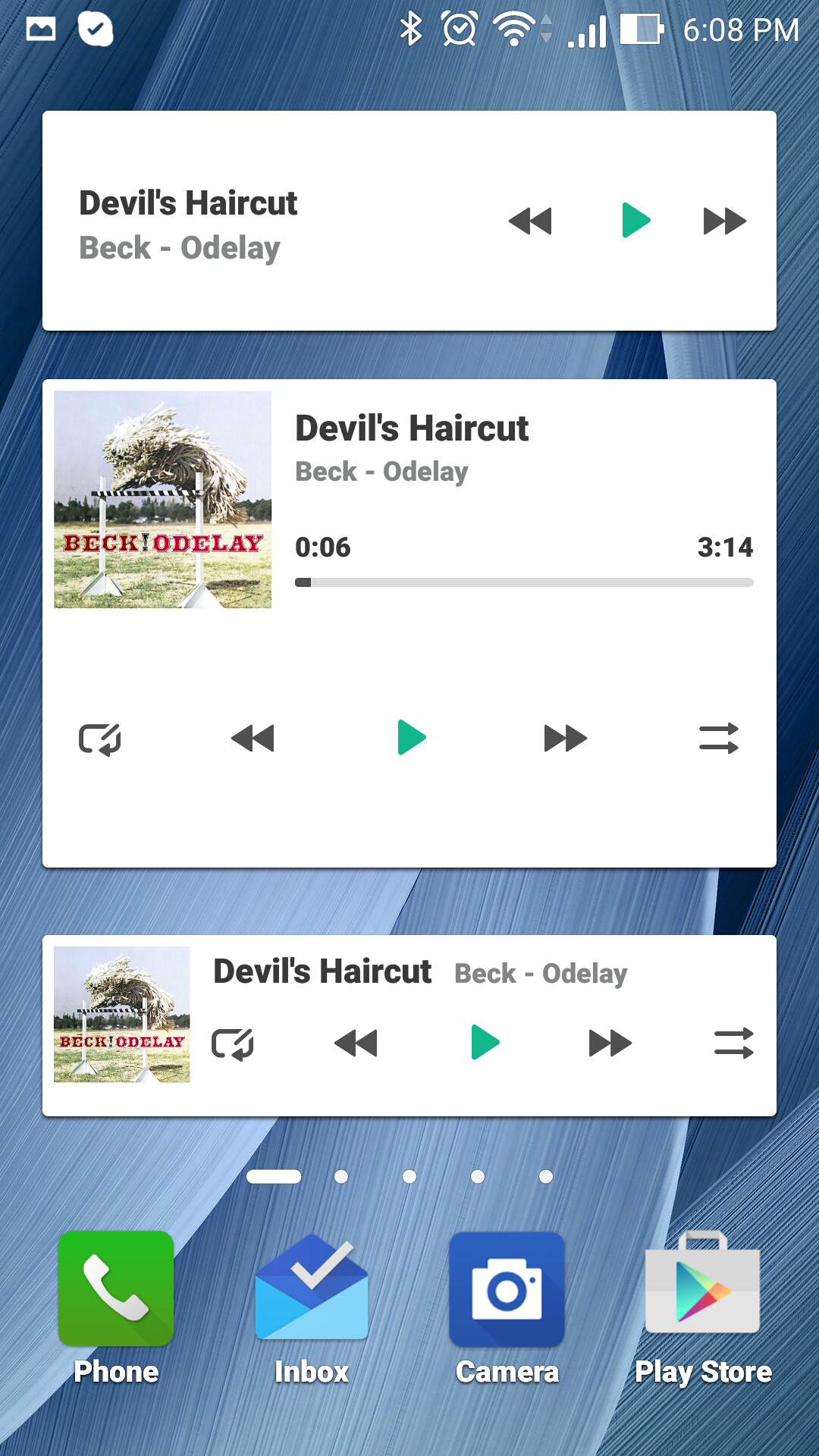 zenfone-music-widgets