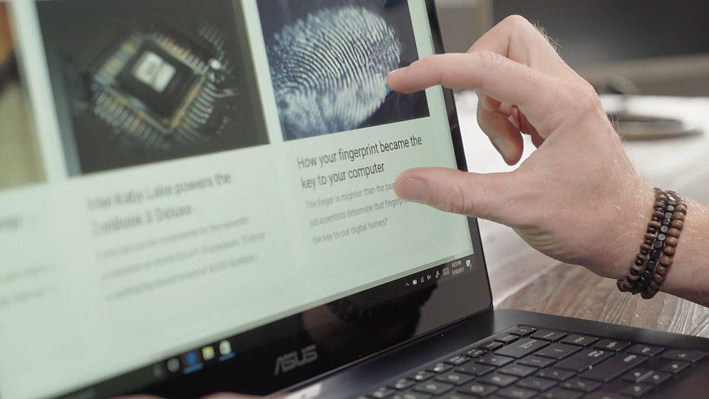 ZenBook Pro NanoEdge display