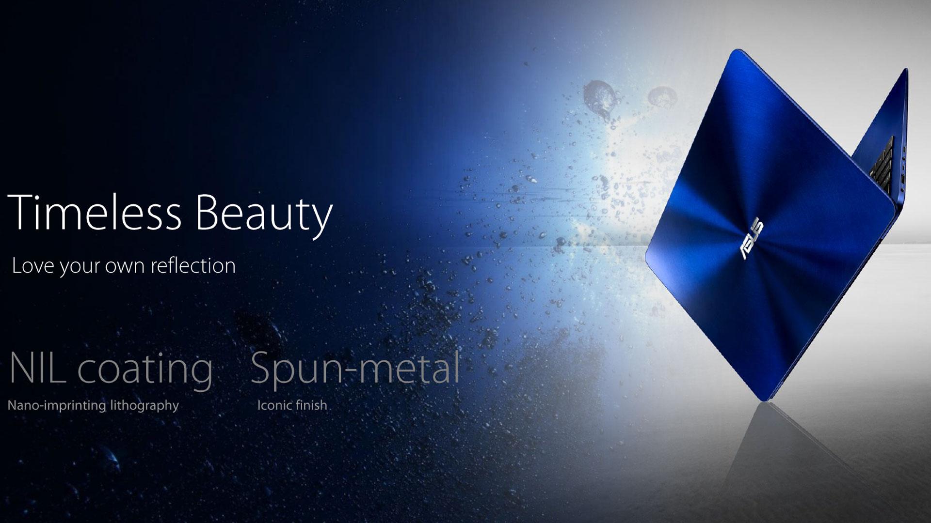 ZenBook UX530 design