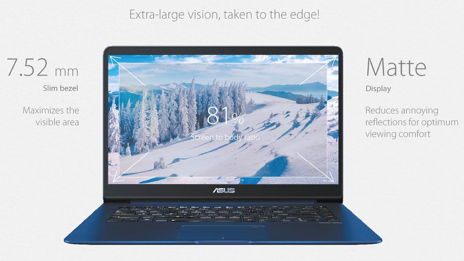 ZenBook UX530 display