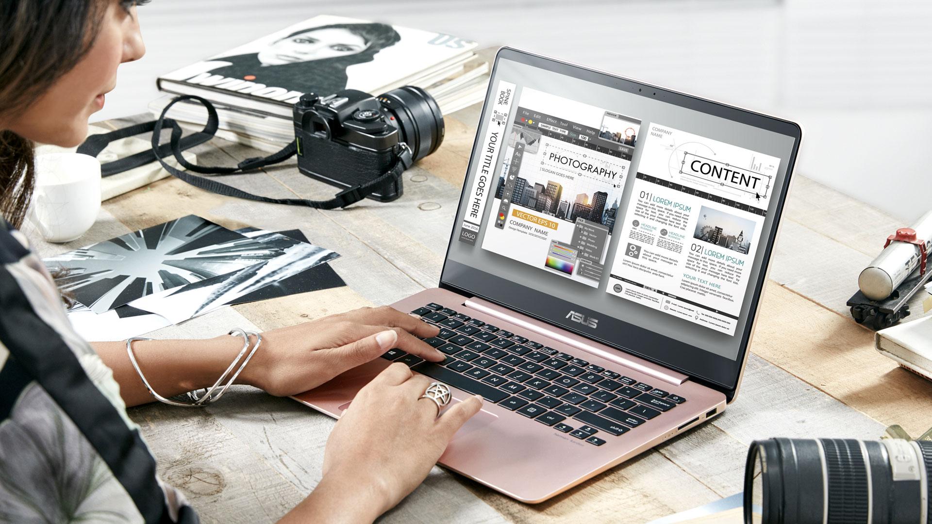 Meet The Asus Zenbook Ux430 Notebook Pc Asus Global