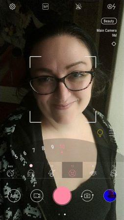 ZenFone 4 beautification mode
